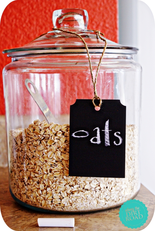 Because we wouldn't know that they were oats without the tag. ;)